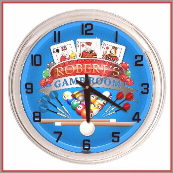 80 reference of neon game room clock neon game room clock-#neon Please Click Link To Find More Refe