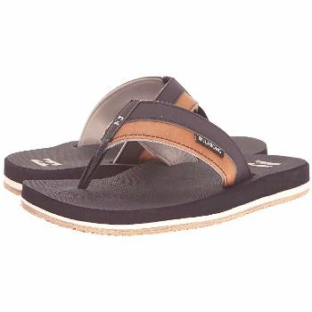 Billabong All Day Impact Sandal (Navy) Men's Sandals. Keep your eyes towards the sand with the beac