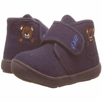 Naturino Express Orso (Toddler/Little Kid) (Navy) Boy's Shoes. The perfect house shoe for lazy week