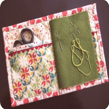 Needle Book - open by twinfibers, via Flickr