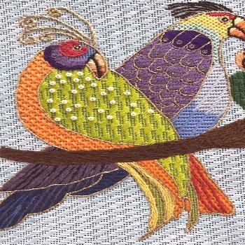 Needlepoint Stitch Guide Songbirds from Danji a Laurel | Etsy