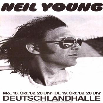 Neil Young, Deutschlandhalle - Fonts In Use