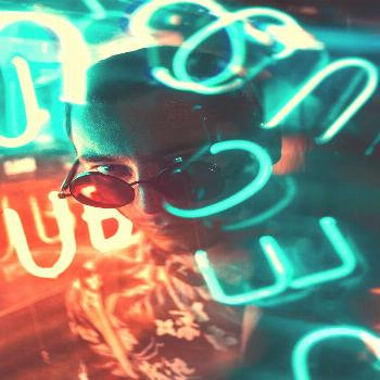 Neon Light Portrait -  Some awesome night photography…  -
