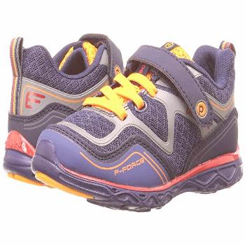 pediped Force Flex (Toddler/Little Kid) (Navy) Boy's Shoes. Conquer all challenges with the pediped