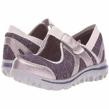 Propet Onalee (Blue/Silver) Women's Shoes. The Onalee not only provides style but lasting comfort f