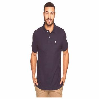 Psycho Bunny Classic Polo (Navy) Men's Short Sleeve Pullover. Cleverly crafted in a range of confid