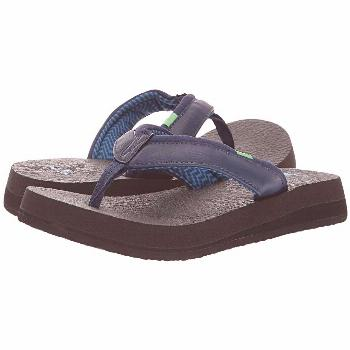 Sanuk Yoga Mat 2 (Navy) Women's Sandals. The perfect combo of mind  body  and sole. Find your Zen w
