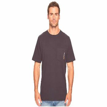 Timberland PRO Base Plate Blended Short Sleeve T-Shirt (Dark Navy) Men's T Shirt. The Timberland PR