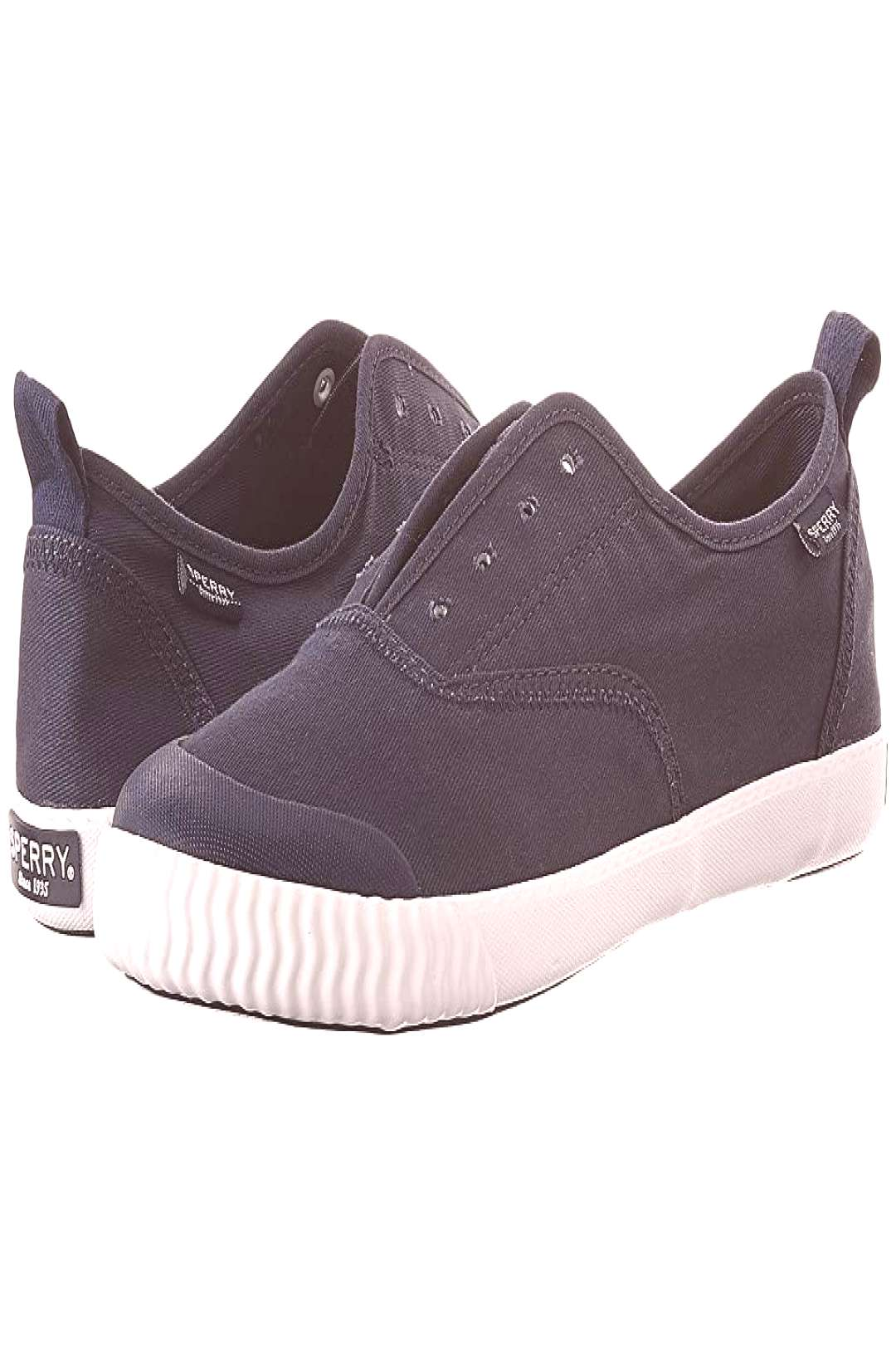 Sperry Sayel Clew Ox Washed (Navy) Womens Lace up casual Shoes. Let yourself be swept away with th